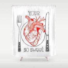 Heart Sweet Shower Curtain