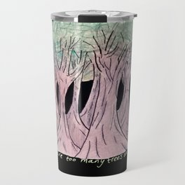 Night Trees Travel Mug