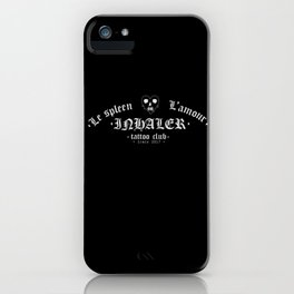 Le spleen - L'amour. iPhone Case
