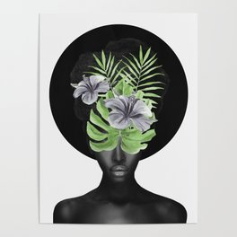 Tropical Girl Poster