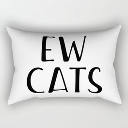 Ew Cats Rectangular Pillow