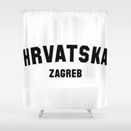 ZAGREB Shower Curtain