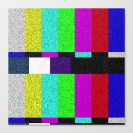 TV SCRN Canvas Print