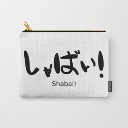 Shabai (unattractive) Carry-All Pouch