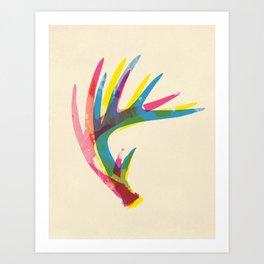 Antler Art Print Art Print
