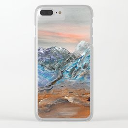 Bleak mid-winter Clear iPhone Case