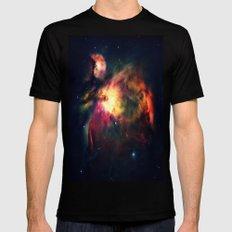 Orion NEbula Dark & Colorful Black MEDIUM Mens Fitted Tee