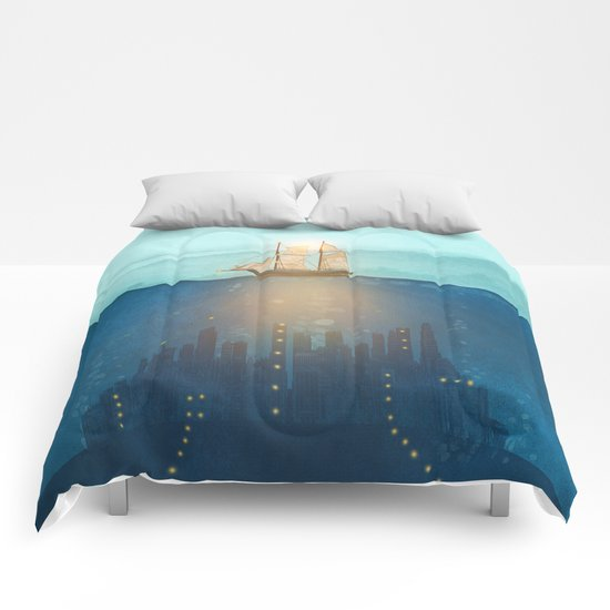 The Underwater City Comforters
