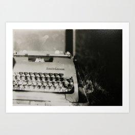 Novelist Art Print