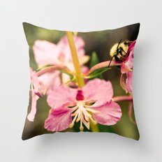 Bee's Delight Throw Pillow
