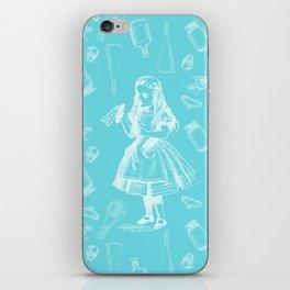 Alice in Wonderland and Jars iPhone Skin