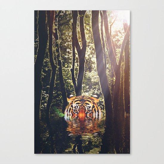 It's a jungle Canvas Print
