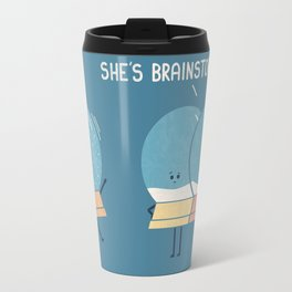 Brainstorming (Alt Version) Travel Mug