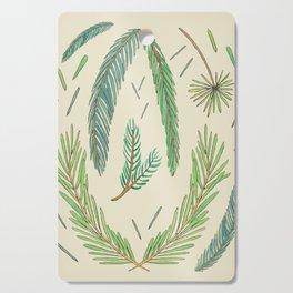Pine Bough Study Cutting Board