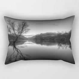 Tree Lake Rectangular Pillow