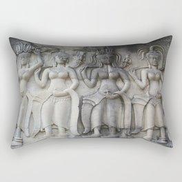 Apsara Dancers Rectangular Pillow
