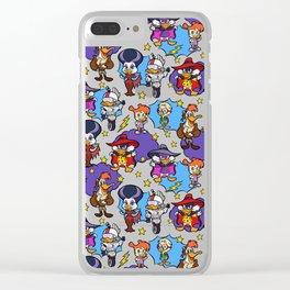 Dangerous Ducks Clear iPhone Case