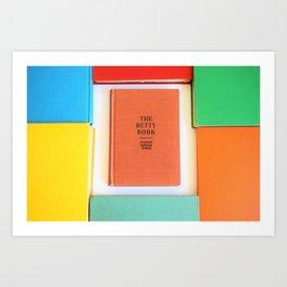The Betty Book Art Print