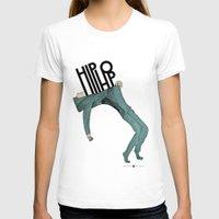 hip hop T-shirts featuring Hip-Hop by Mariana Baldaia