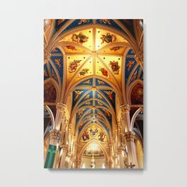 Basilica of the Sacred Heart Metal Print