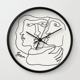 Poster-Jean Cocteau-Metamorphosis Wall Clock