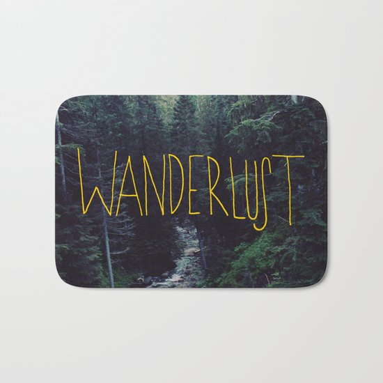 Wanderlust: Rainier Creek Bath Mat