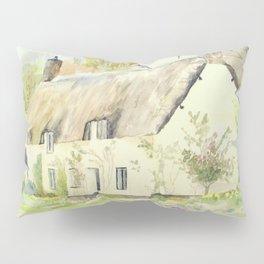 Picturesque Dunster Cottage Pillow Sham
