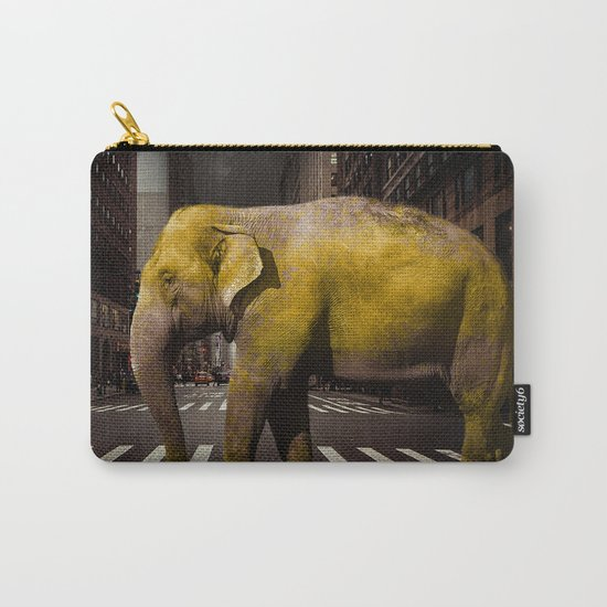 Elephant in New York Carry-All Pouch