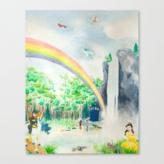 Misadventures in Dreamland Canvas Print