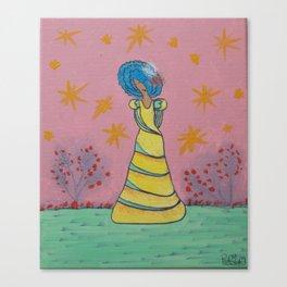 PRINCESS IN THE GARDEN Canvas Print