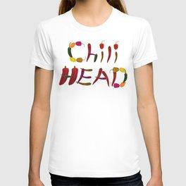Chilihead, Chili Head - we all love chili T-shirt