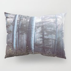 Forest Trees Sunrise Pillow Sham