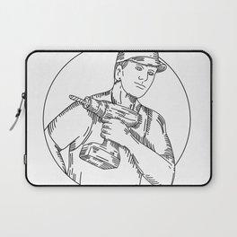 Handyman Cordless Drill Mono Line Laptop Sleeve
