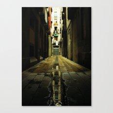 Barcelona Alley Canvas Print