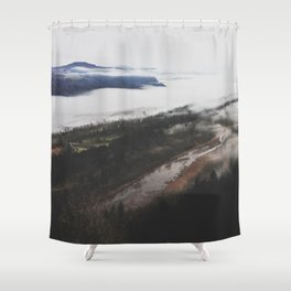 Columbia River Gorge Shower Curtain