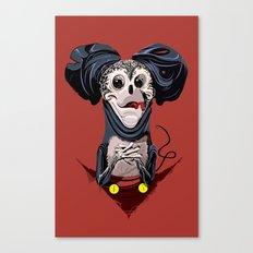 Creepy Mickey Canvas Print
