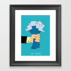 i like syndrome Framed Art Print