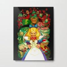 Hello Alice Metal Print