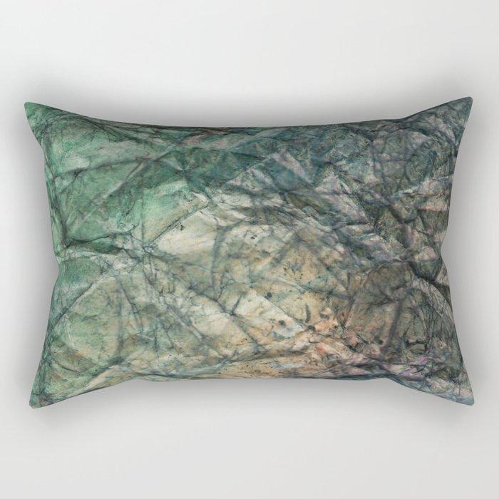PLANETARY TOPO Rectangular Pillow
