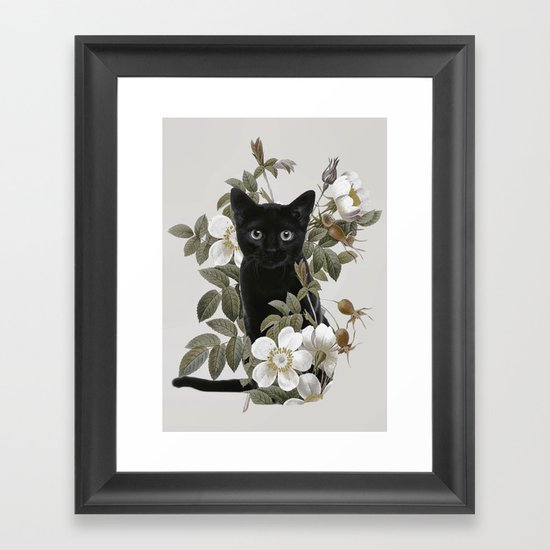 Cat With Flowers by dada22