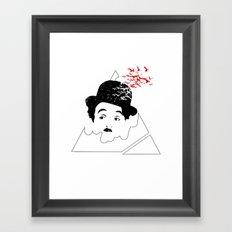 Chaplin Conspiracy Framed Art Print