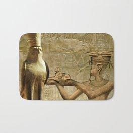 Horus and Pharaoh Bath Mat