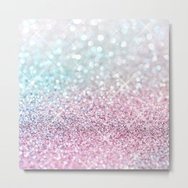 Pastel Winter Metal Print