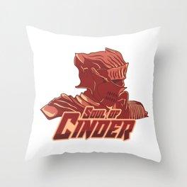 Soul of Cinder Throw Pillow