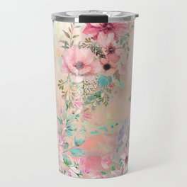Botanical Fragrances in Blush Cloud Travel Mug