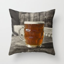 Pint in a Jug  Throw Pillow