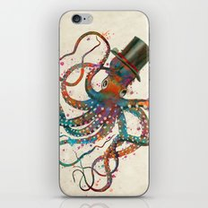 Mr Octopus iPhone & iPod Skin