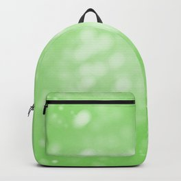 Lime Green Ombre Backpack