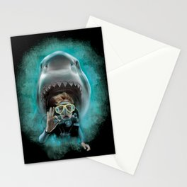 Shark! Stationery Cards