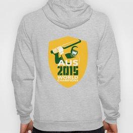 Australia Cricket 2015 World Champions Shield Hoody